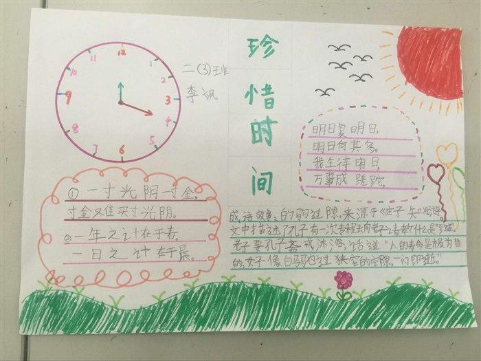 从手抄报看你的学习态度 樊小瑞图片